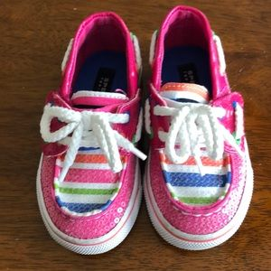 Toddler Girl Sperry Top Siders